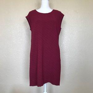 LOFT Printed Shift Dress